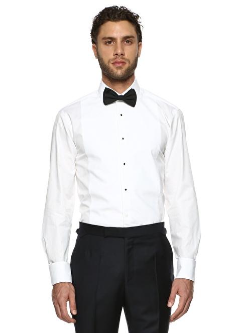 Gieves & Hawkes Klasik Gömlek Beyaz